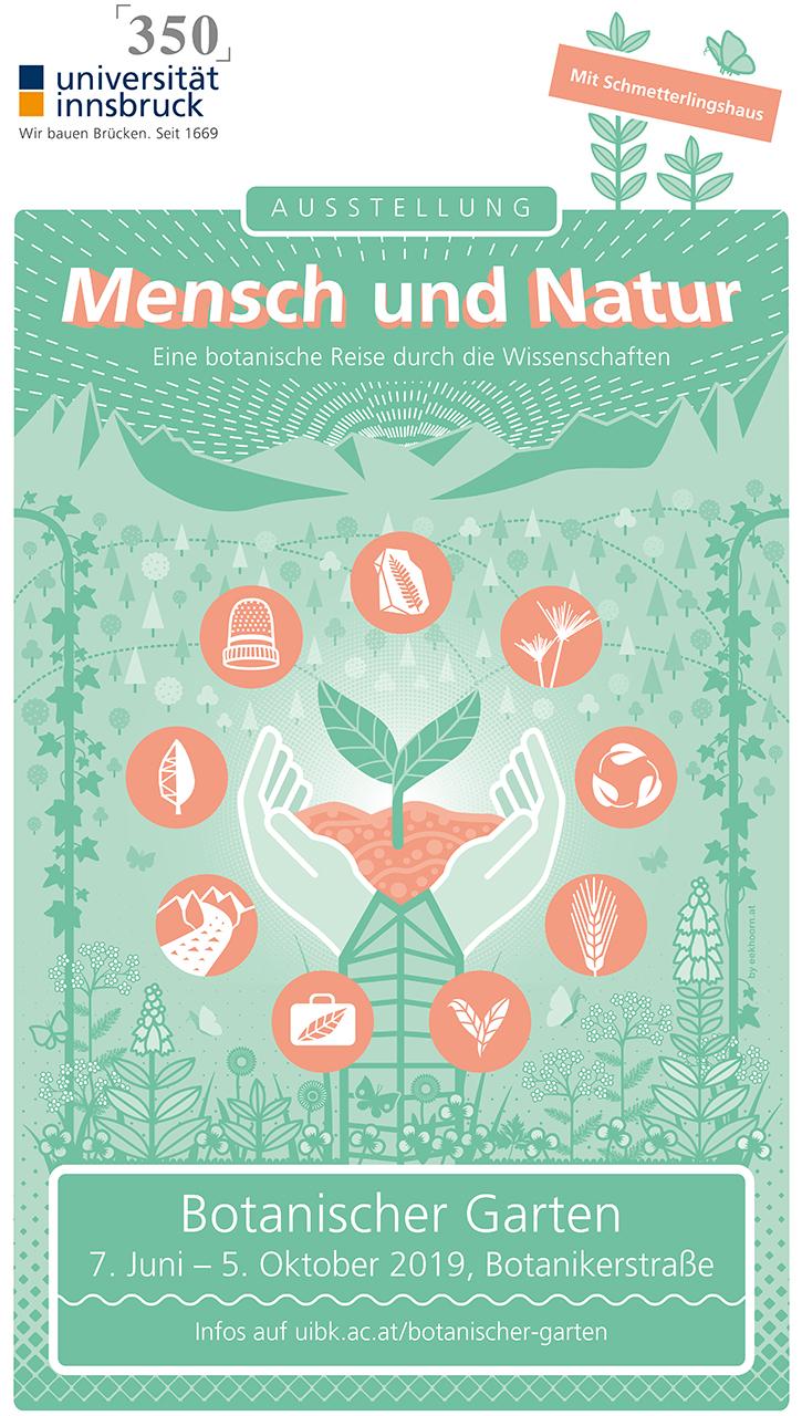 Mensch und Natur - Plakat