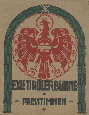 Broschüre Exls Tirolerbühne – Pressestimmen