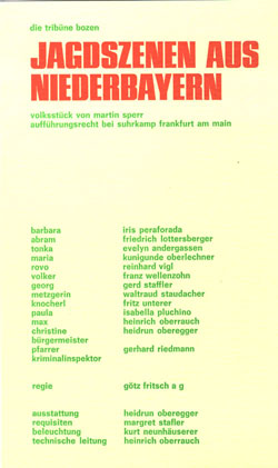 Plakat, 1970