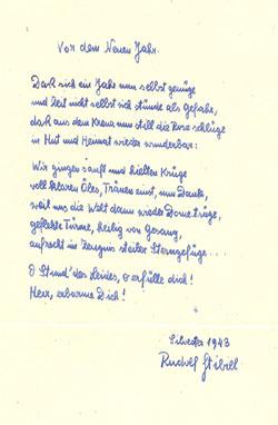 Gedicht, 1943