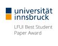 LFUI Best Student Paper Award