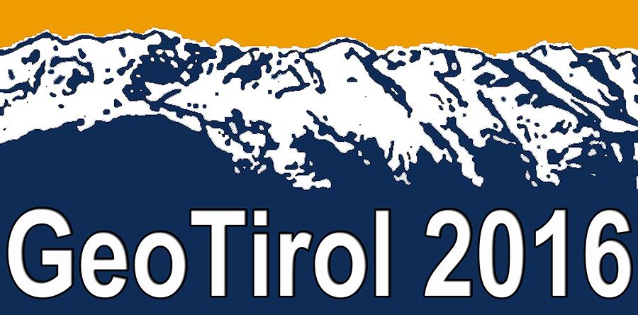 Logo GeoTirol 2016