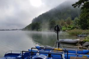 Fog over Klopeiner See