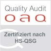 Quality Audit Zertifizierungslabel
