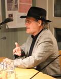 Joseph Zoderer bei der Präsentation des ersten Bandes der Werkausgabe am 23.3.2015