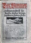Heft 1, 1. Juni 1910