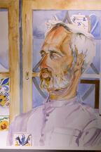 Porträt-Malerin