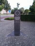 Das Denkmal zur Unterzeichnung des Vertrags von Maastricht