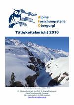 Tätigkeitsbericht 2016 Deckblatt