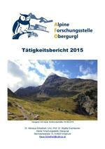 Deckblett Tätigkeitsbericht 2015