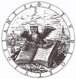 """Die IDK-Eule stammt aus dem """"Nucleus emblematum selectissimorum"""" von Gabriel Rollenhagen (Köln 1611)"""