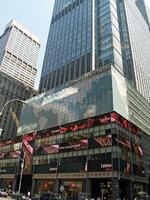 Da war die Welt noch in Ordnung: Die Lehman Brothers Firmenzentrale im August 2007