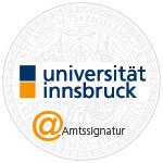 Amtssignatur der Universitaet Innsbruck