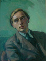 Siegfried Trieb: Porträt von Rudolf Stibill, 1947