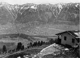 Alpengarten und Gärtnerhaus um 1930