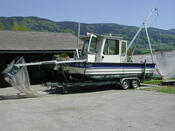 Boot mit Netzen