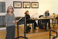 Ursula Schneider, Rut Benardi, Ulrike Kindl. Foto: Literaturhaus am Inn