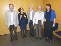 v.l. Marjan Cescutti, Renate Maruschko, Georg Mühlberger, Markus Vallazza, Erika Wimmer