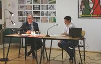 Joachim Reiber: Gottfried von Einem. Eine Komponistenbiographie als kulturgeschichtliche Untersuchung. Vortrag und Gespräch mit Annette Steinsiek. © Literaturhaus am Inn