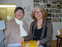 v.l. die Sammlerin Edith Duschka, Ursula Schneider
