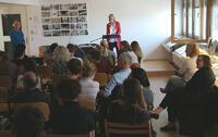 Gastvortrag Alice Crary. Foto: Brenner-Archiv