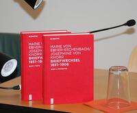 Marie von Ebner-Eschenbach – Josephine von Knorr: Briefwechsel 1851–1908. Kritische und kommentierte Ausgabe. Hrsg. von Ulrike Tanzer, Irene Fußl, Lina Maria Zangerl und Gabriele Radecke.