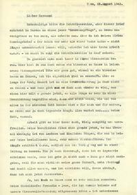 1. Brief von E. Danneberg 25.8.1942, Antwort von H. Hakel , Sign. 252/13-3