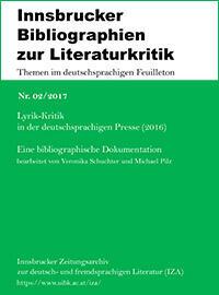 Lyrik-Kritik in der deutschsprachigen Presse (2016)