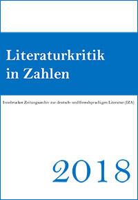 Cover: Literaturkritik in Zahlen 2018