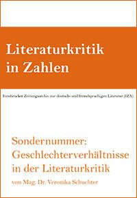 Cover: Literaturkritik in Zahlen Sondernummer
