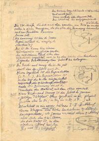 Psychologie graphisch dargestellt, Manuskriptseite