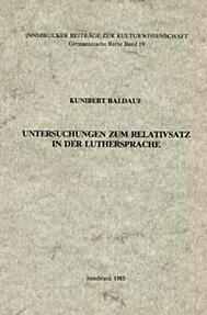 luthersprache