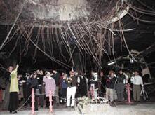 Die Irakische Regierung errichtete im Bunker eine Gedenkstätte