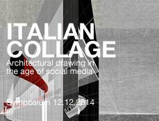 Italian Collage   Symposium 12.12.2014 architekturtheorie.eu