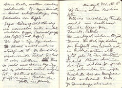 Tagebuch - Aufzeichnungen vom 21.1.1980