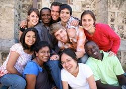Symbolbild: Studierende aus aller Welt