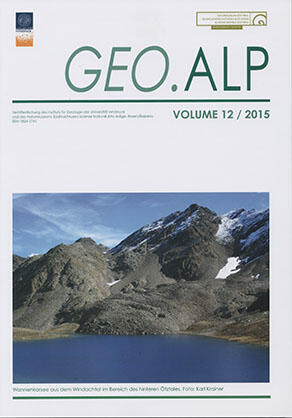 Cover Geo.Alp Volume 11 / 2014
