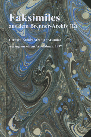 Faksimiles aus dem Brenner-Archiv (12)