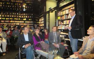 Eröffnung in der Buchhandlung Haymon am 17.10.2013