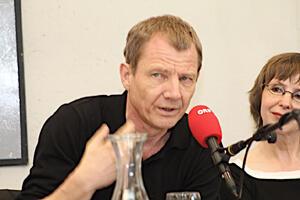 v.l. Ullrich Woelk, Sylvia Geist