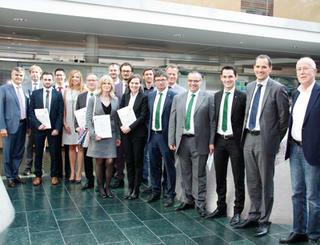 Abschlussfeier Finance Essentials - Südtirol