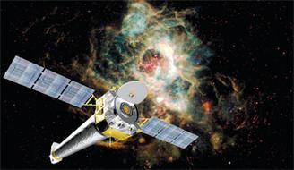 Chandra-Röntgen-Weltraumobservatorium (Foto: NASA)