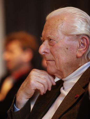 Ernst von Glasersfeld, 2008. Foto: Christian Wucherer