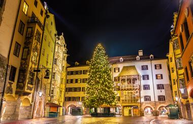 Innsbruck Altstadt Weihnachten