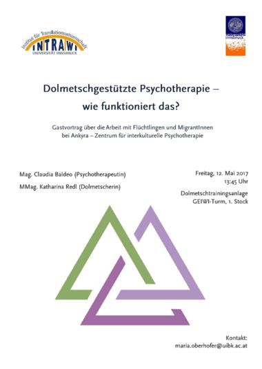 12.05.2017 GV Dolmetschgestuetzte Psychotherapie