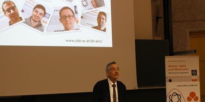 Rektor Prof. Dr. Dr.h.c.mult Tilmann Märk
