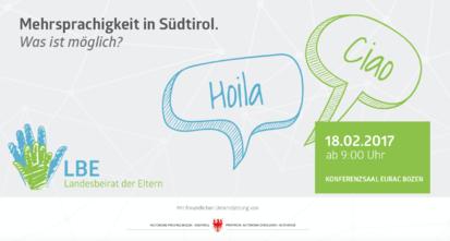 Banner - Mehrsprachigkeit Südtirol