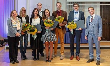 UIBK best student paper award ceremony