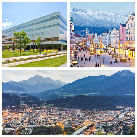 Collage of Innsbruck