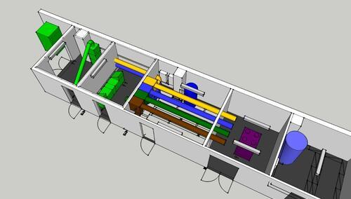 Figure 6: Compact unit test rig